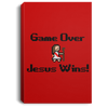 Game Over Christian Portrait Canvas .75in Frame
