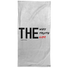 The Way Truth Life Christian Towel - 15x30