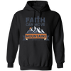 Faith Can Move Mountains Christian Pullover Hoodie