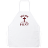Real Men Pray Christian Apron