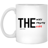 The Way Truth Life Christian 11 oz. White Mug