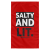 Salty & Lit Christian Wall Flag 3ft. x 5ft.