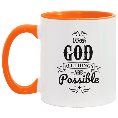 With God Christian Accent Mug