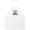 Faith Can Move Mountains Christian Apron