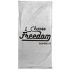 I Choose Freedom Christian Towel - 15x30