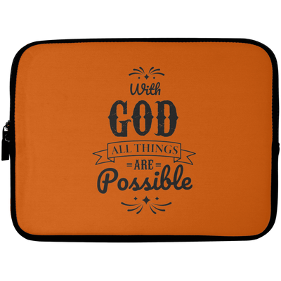 Christian Laptop Sleeve - 10 inch