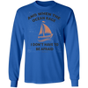 When The Ocean Rage Long Sleeve Christian T-Shirt
