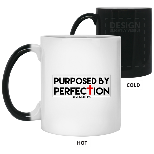 Purposed By Perfection Christian 11 oz. Color Changing Mug