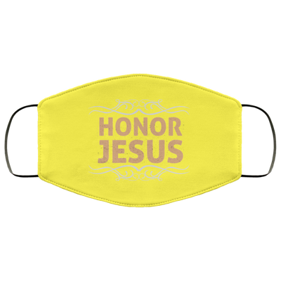 Honor Jesus Christian Face Mask