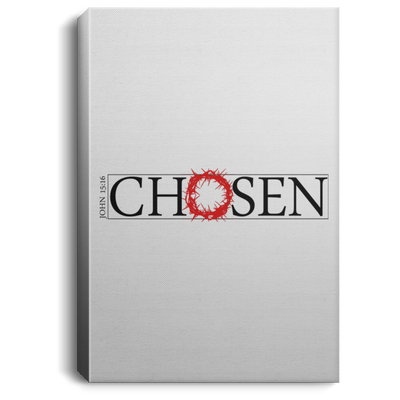 Chosen Christian Portrait Canvas .75in Frame