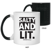 Salty & Lit Christian 11 oz. Color Changing Mug