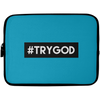 #TRYGOD Christian Laptop Sleeve - 10 inch