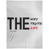 The Way Truth Life Christian Arctic Fleece Blanket 60x80