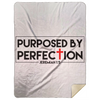Purposed By Perfection Christian Mink Sherpa Blanket 60x80