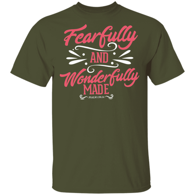 Wonderfully Made Christian T-Shirt