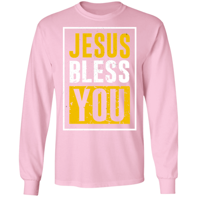 Jesus Bless You Long Sleeve Christian T-Shirt