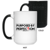 Purposed By Perfection Christian 15 oz. Color Changing Mug