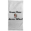 Game Over Jesus Wins Christian Towel - 15x30