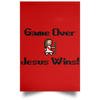 Game Over Christian Satin Portrait Poster