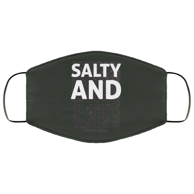 Salty & Lit Christian Face Mask