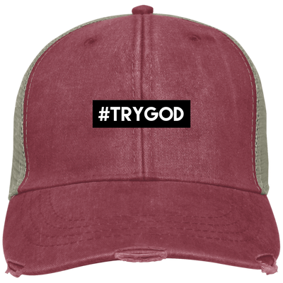 #TRYGOD Embroidered Christian Ollie Hat