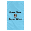 Game Over Jesus Wins Christian Wall Flag 3ft. x 5ft.