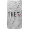 The Way Truth Life Christian Oversized Beach Towel - 37x74