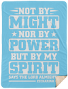 My Spirit Christian Sherpa Blanket - 60x80