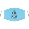 With God Christian Face Mask