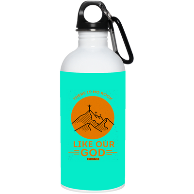 Like Our God Christian 20 oz. Stainless Steel White Water Bottle