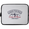 Good Things Christian Laptop Sleeve - 10 inch