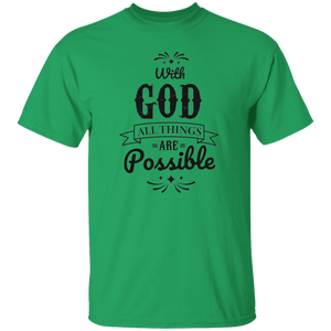 With God Christian T-Shirt