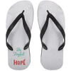 Be Joyful Christain Adult Flip Flops