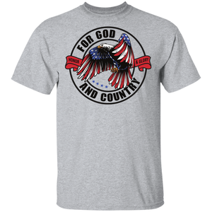God & Country Christian T-Shirt
