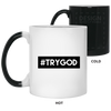 #TRYGOD Christian 11 oz. Color Changing Mug