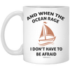When The Ocean Rage Christian 11 oz. White Mug