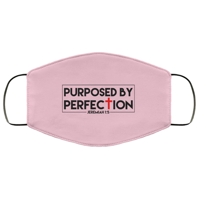 Purposed by Perfection Christian Face Mask