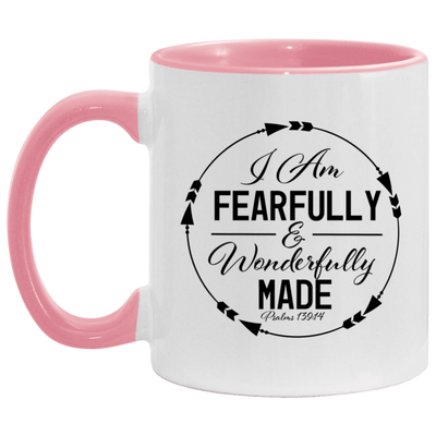 Wonderfully Made Christian Accent Mug