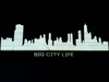 CIty Silhouette View - Wall Decor