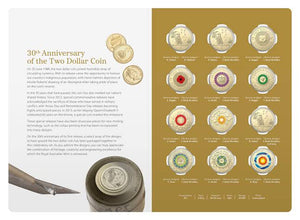 In 2018 the Royal Australian Mint Released a $2 12 coin Commemorative Set. Featuring 12 of the most sought after $2 Coloured Coins.