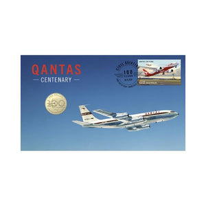2020 Qantas PNC with $1 Coin, Released on October 6th these PNCs are sure to be popular. Australian Specialty Coins.