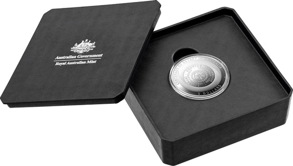 2021 Rotary Australia Centenary 1oz Silver $1 Proof Coin