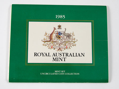 1985 Australia 7 Coin Mint Set