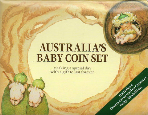 1995 Royal Australian Mint Gumnut Baby Mint Set