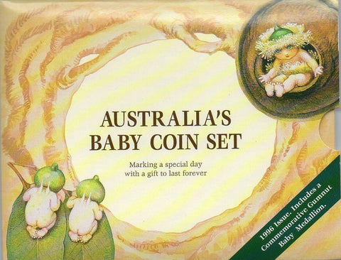 1996 Royal Australian Mint Gumnut Baby Mint Set