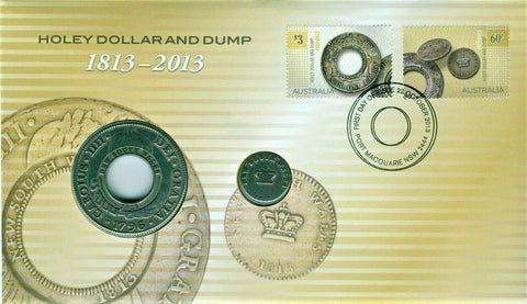 2013 Holey Dollar & Dump Medallion PNC