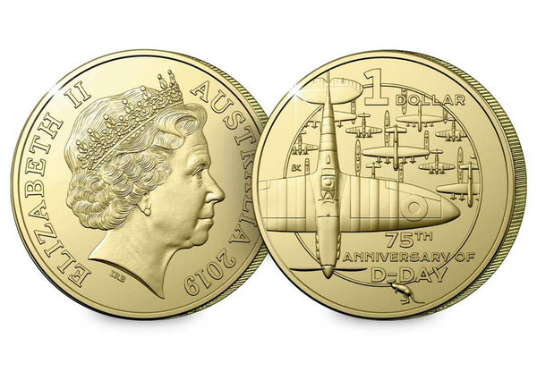 2019 The 75th Anniversary of D-Day Four Coin Set