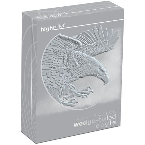 2020 Australian Wedge-tailed Eagle 1oz Silver High Relief Coin