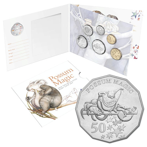 2020 Possum Magic 6 Coin Baby Mint Set
