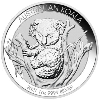 2021 Koala 1oz Silver Bullion Coin